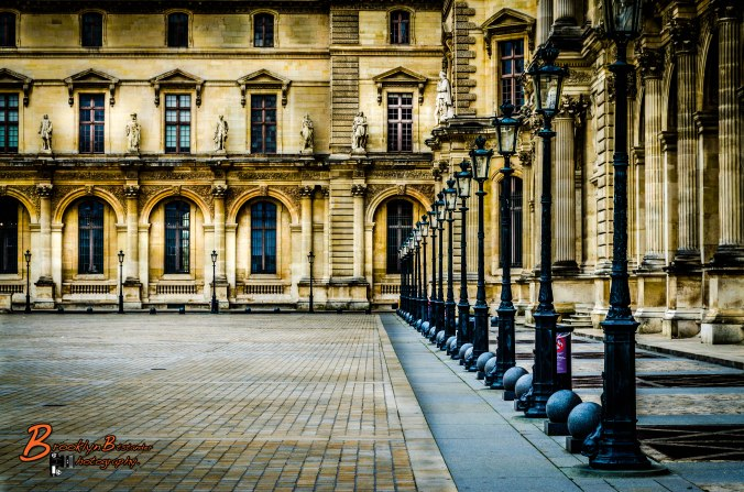Louvre Coutyard