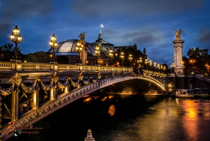 The Pont Alexandre III