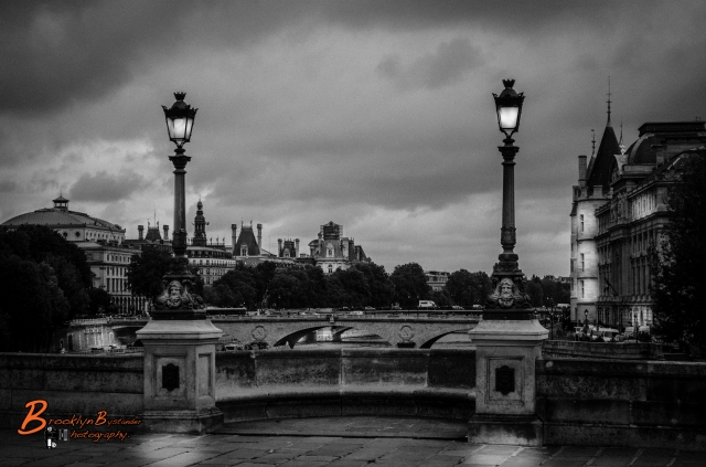 B&W Paris Bridge