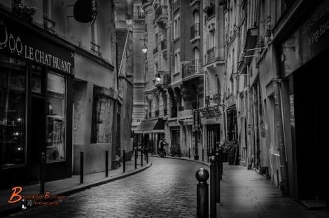 B&W Paris Street