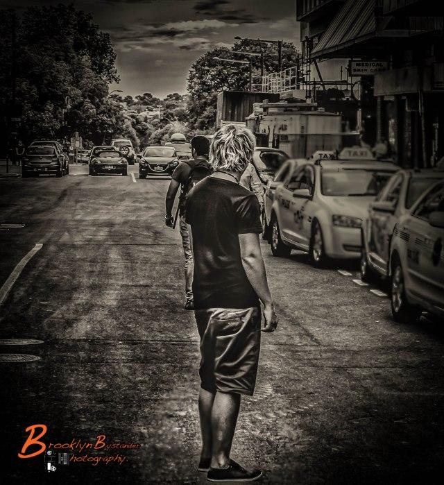Man in Road