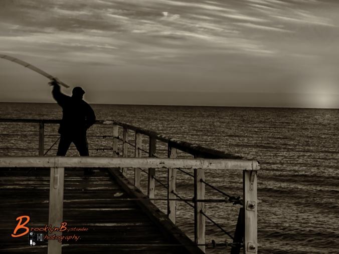 Fisherman B&W