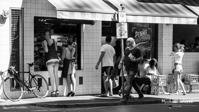 Corner Black & White