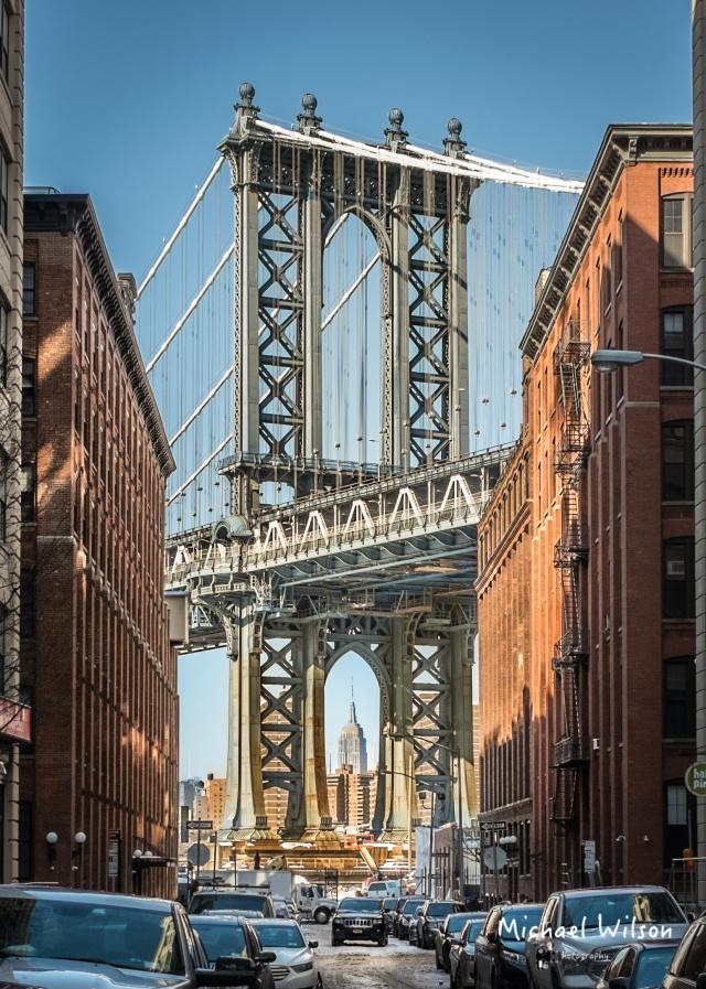 Brooklyn Bridge Side Street