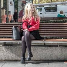 Girl behind a Girl