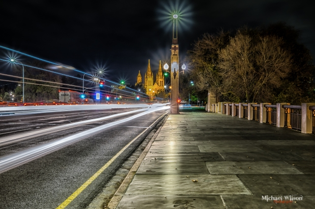 Adelaide City Car Lights